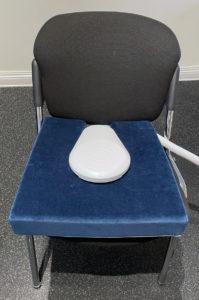 Bäckenbotten stol